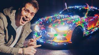 1000 LAMPEK NA MUSTANGU! STROIMY AUTO JAK CHOINKĘ!