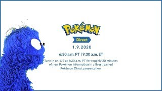 Pokemon Direct 1/9/20 Live Reaction and Commentary