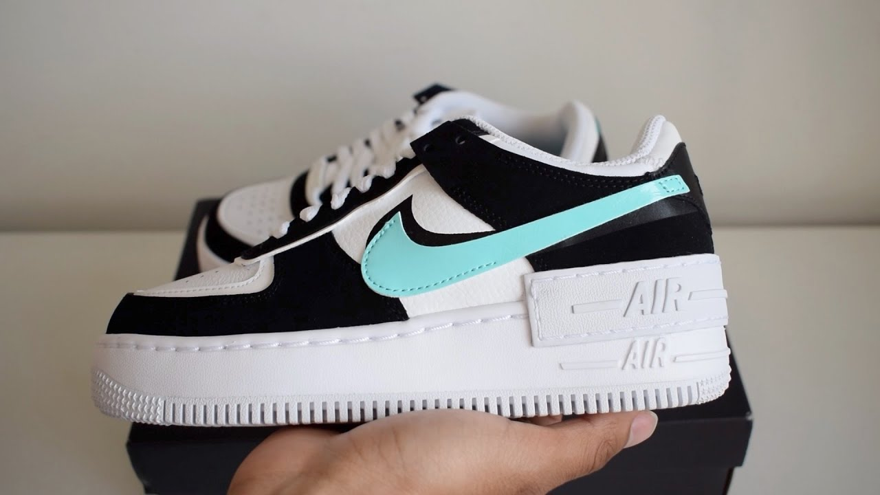 Nike Air Force 1 Shadow Aurora Blue Unboxing
