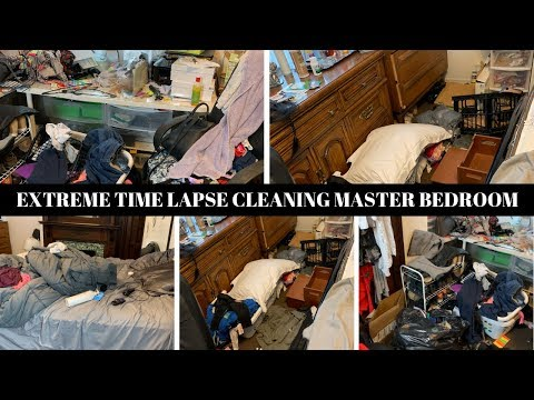 EXTREME CLEANING MOTIVATION   CLEAN WITH ME MASTER BEDROOM   COMPLETE DISASTER - 6 HOURS