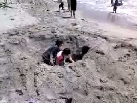 Trevor Collin Big Hole in Sand
