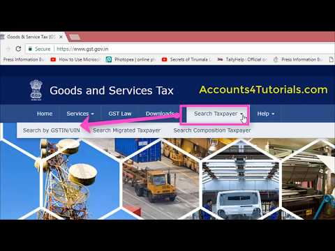 How to know gst number from pan in offline.