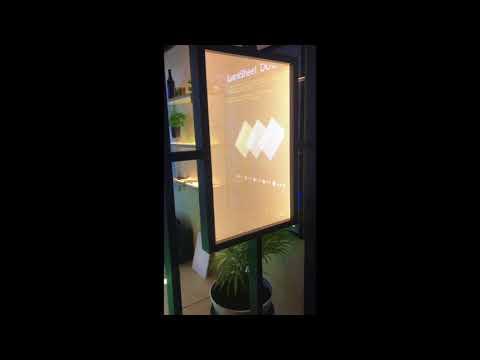 LumiSheet - LED Double Sided Advertising Panel