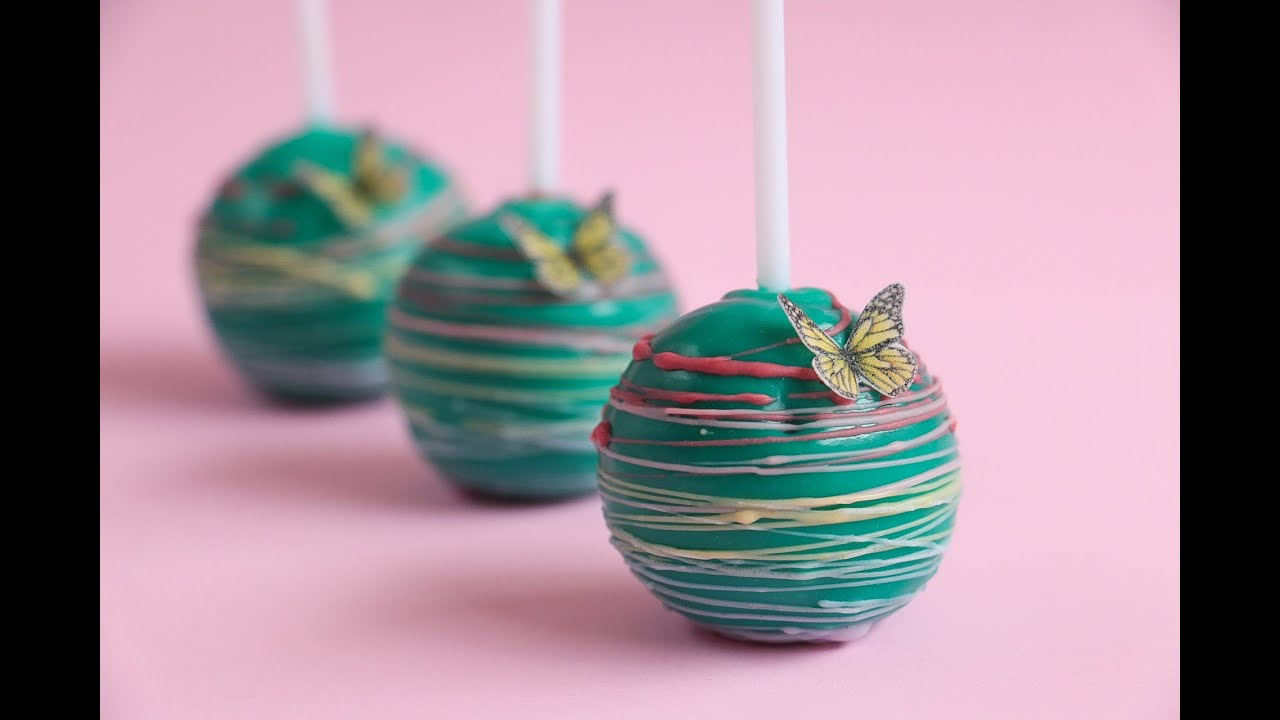 Cake Pops Decoration Tutorial