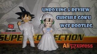 Unboxing & Review Goku e Chichi de Casamento - WCF Bootleg