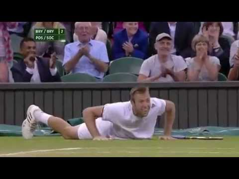 Match point: Pospisil & Sock win the men's doubles - Wimbledon 2014