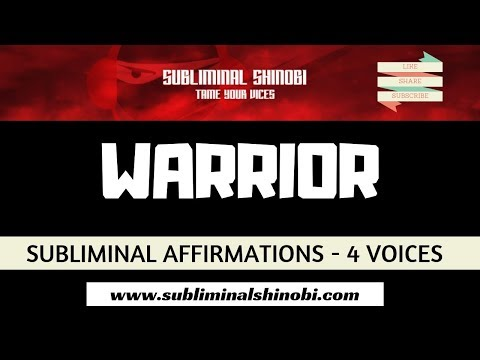 warrior:-archetype-of-the-mature-masculine---subliminal-affirmations