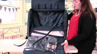 CGull Ultimate Scrapbooking & Machine Tote Demo - CraftDirect
