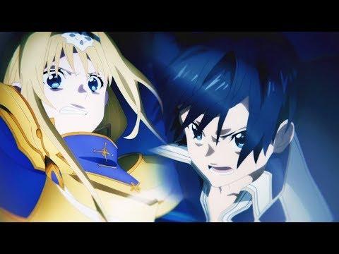 Kirito Vs Alice - Sword Art Online Alicization [ Amv ] - Get Up