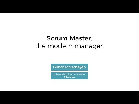 Scrum Master, the modern manager