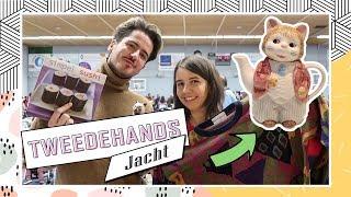 TWEEDEHANDS JACHT #4 💶 Vintage truien & kattenspullen met Marciano! | Boncolor