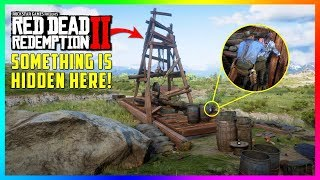 There Is A DARK & CREEPY Secret Hidden In This Oil Derrick You Don't Know In Red Dead Redemption 2!
