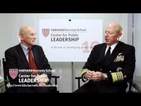 Joseph Nye vesves Admiral Robert Willard on leadership