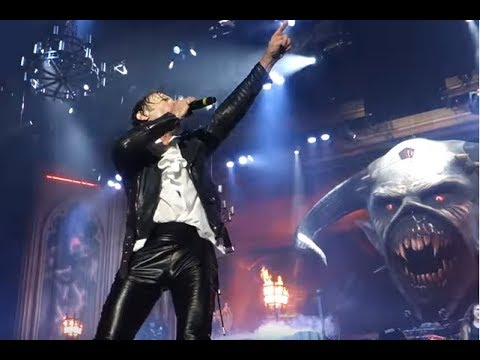 """Iron Maiden play 2nd show of their """"Legacy Of The Beast Tour"""" in Finland, setlist/video..!"""