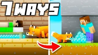 7 Ways to Steal Sub's Diamonds in Minecraft!