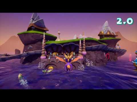 Spyro Reignited Trilogy: Summer Forest - Ocean Speedway 100%