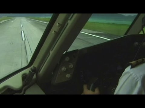Boeing 767 Cockpit out of Seychelles (2002)