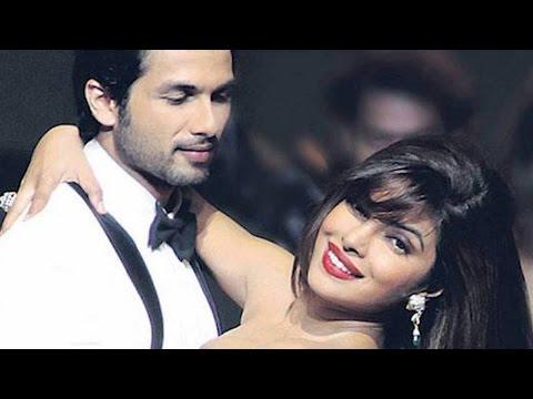 Priyanka Chopra patches up with ex boyfriend Shahid Kapoor @ IIFA Awards 2016