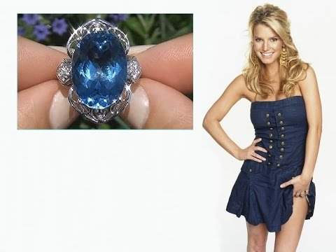 Jessica Simpson Estate 20.42 Carat London...