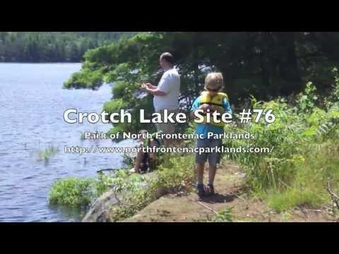 Camping At Crotch Lake Site #76