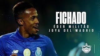 OFICIAL: EDER MILITAO ficha con el REAL MADRID I MDF