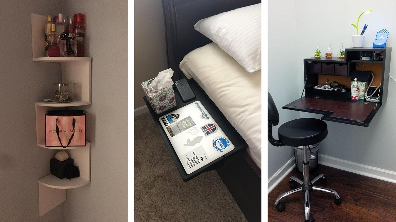 27 Super Clever Storage Ideas For Your Bedroom Youtube