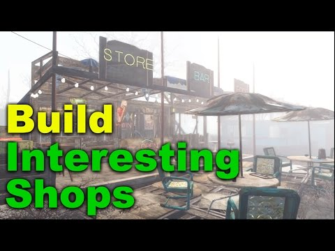 Fallout 4 Tips & Tricks: More Interesting Shops (Let's Build)