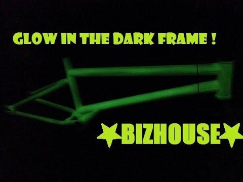 Bizhouse New Krueger Bmx Flatland Frame Glow In The Dark Youtube
