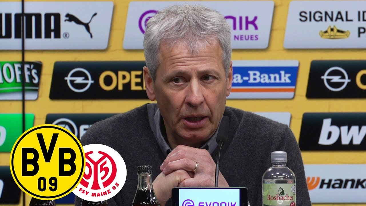 Hauptsache gewonnen!   PK mit Lucien Favre   BVB - 1. FSV Mainz 05 2:1