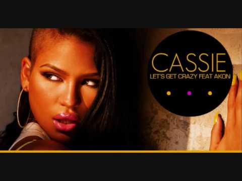 Cassie - Let's Get Crazy (Feat. Akon) (Blue Ice Trance Edit)