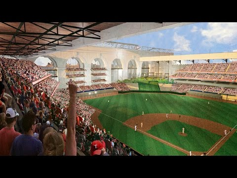 Texas Rangers Announce Architect for New Ballpark
