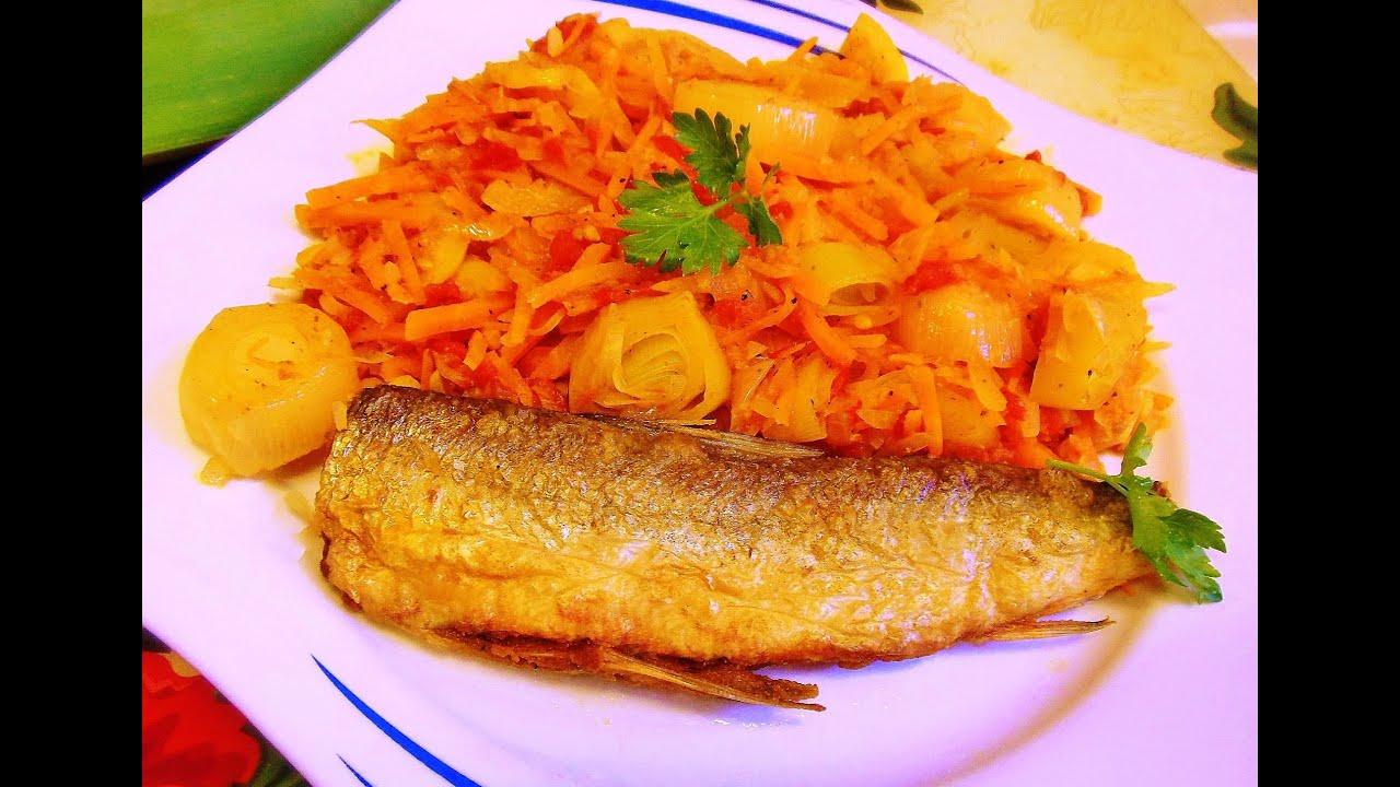 что приготовить на гарнир к рыбе жареной