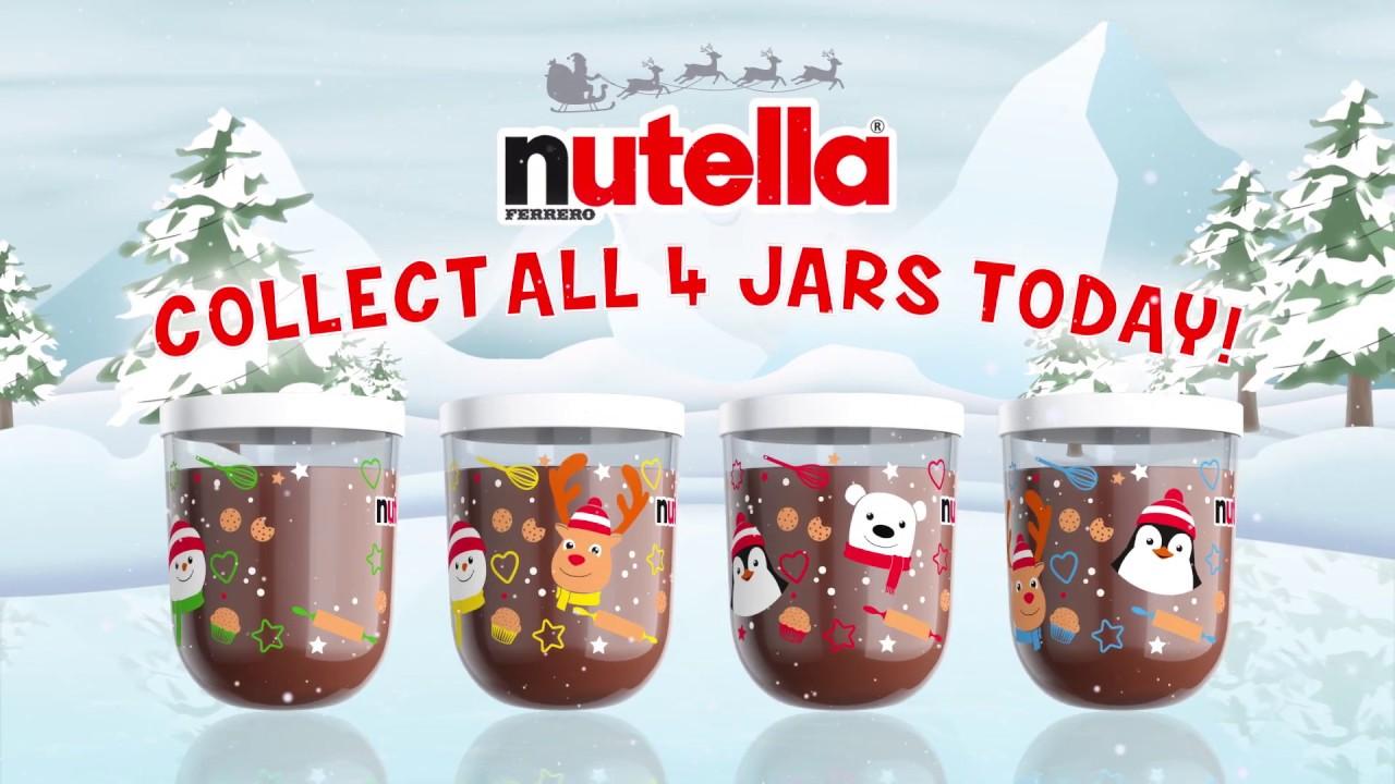 Nutella Christmas 2019