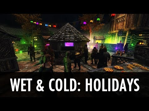 Skyrim Mod: Wet And Cold - Holidays