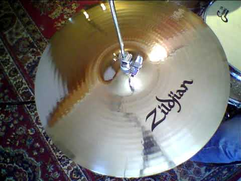 "NEW Zildjian Prototype 17"" A Custom HiHats"