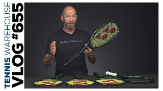 Sneak Peek: New Yonex VCORE PRO Tennis Racquets -- VLOG #655