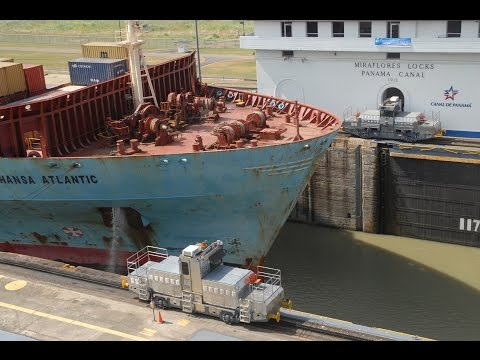 Panama Canal Ship Accident Crushes Man