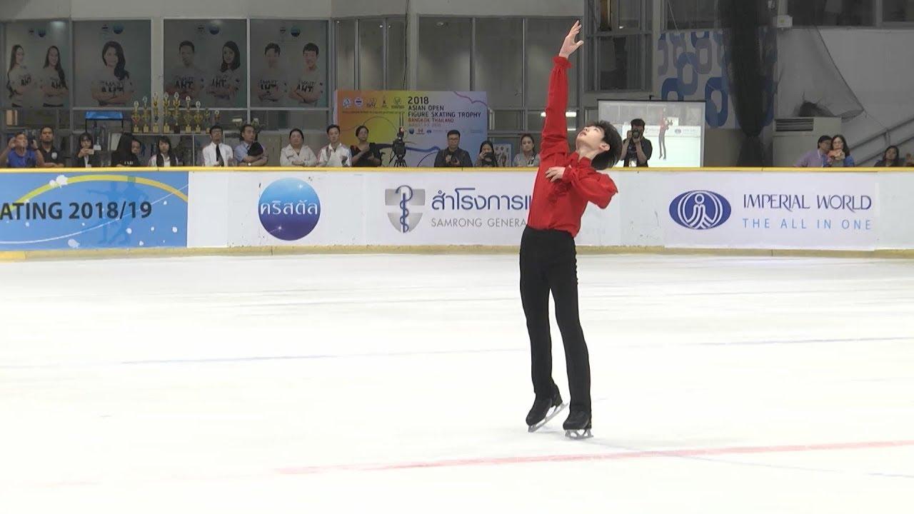 Download 박성훈 Sunghoon PARK SP @ ISU CS Asian Open Figure Skating Trophy 2018  [04.08.2018]