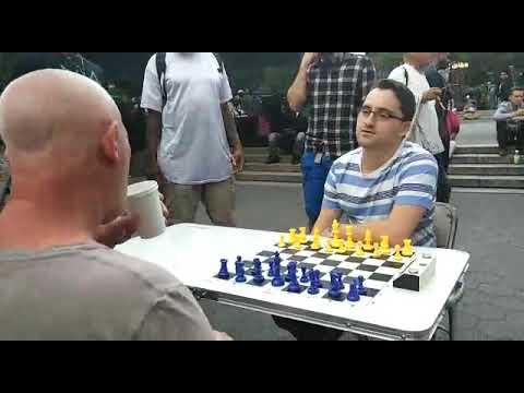 International master vs New york chess hustler, who would win?!