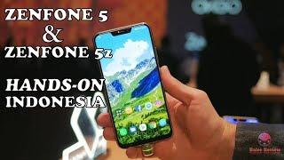 Asus Zenfone 5 dan Zenfone 5z indonesia - Hands on || Iphone x versi murah..!
