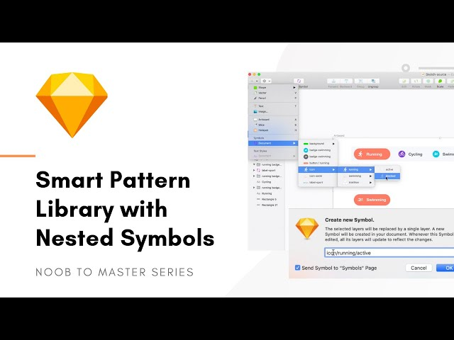 Design Pattern Library with Nested Symbols - Sketch: Noob to Master, ep7