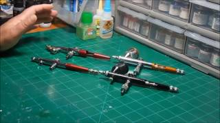 Subscriber Questions About Paasche Airbrushes