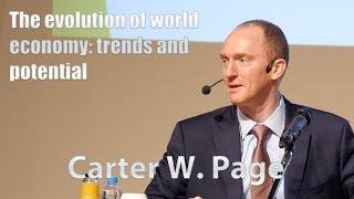 Carter W. Page. The evolution of world economy: trends and potential