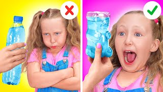 ANNOYING SISTER ALL DAY LONG || GOOD Sister VS EVIL Sister! Family and Siblings by 123 GO! SCHOOL