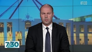 Treasurer Josh Frydenberg discusses the latest national account figures | 7.30