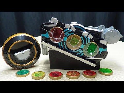 Kamen Rider OOO DX OOO DRIVER Super Best Edition: EmGo's Kamen Rider Reviews N' Stuff