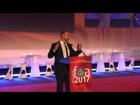 FOA 2017: Juan Señor (Presentador Cannes Lions - Innovation Media Consulting)