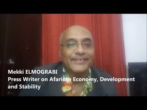 "Mekki ELMOGRABI on 7th of July the commemoration of ""Africa Integration Day"""