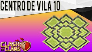 Novo Layout Híbrido Cv10 | Town Hall 10 Hybrid Base | New Update | Clash Of Clans