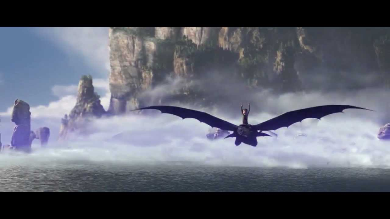 How To Train Your Dragon Ost Test Drive Hd Youtube